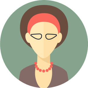 flat-faces-icons-circle-woman-5